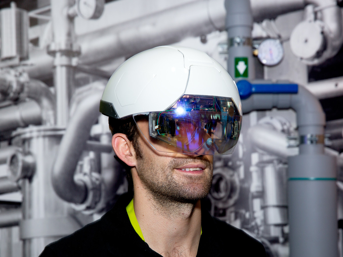 The hardhat that helps you work!